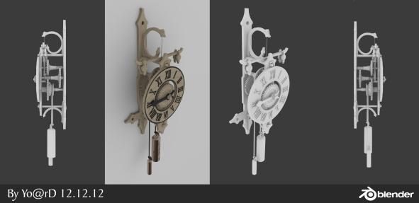 Clock - Blender
