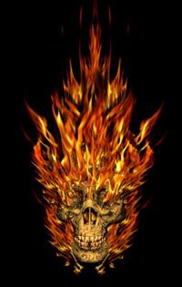 Tengkorak Api (Blender) | Gado-Gadonya YOPI ARDINAL