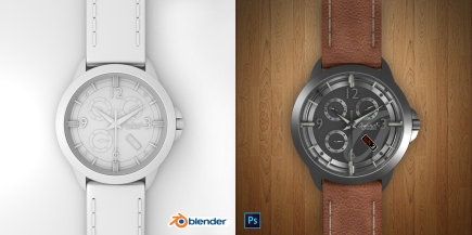 CYCLE BLENDER WATCH RENDER