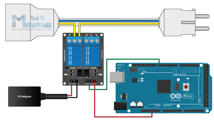 Arduino relay module circuit diagram gado gadonya yopi